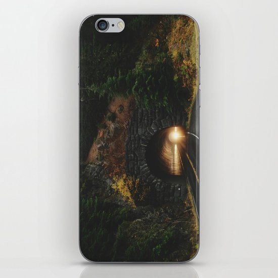 Rainier Tunnel iPhone & iPod Skin