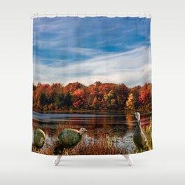 Hammond Pond Shower Curtain