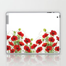 Poppy Mohn Flower Field Laptop & iPad Skin