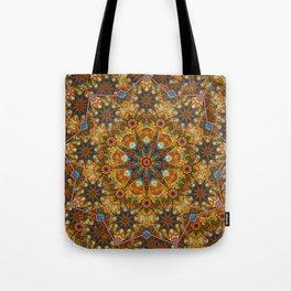 Aztec paisley Tote Bag