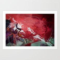 Steganos Art Print