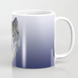 Polygon wolf Coffee Mug
