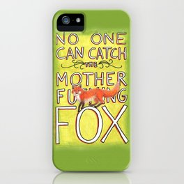 Mother-Foxer iPhone Case