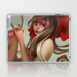 Crimson petals Laptop & iPad Skin