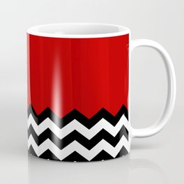 Twin Peaks - The Red Room Coffee Mug