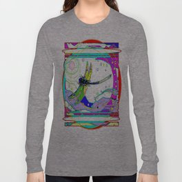 Rainbow Desert Dragonfly Long Sleeve T-shirt