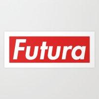 Futura Bold Art Print