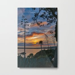 Colorful Sunset at Lookout Point Metal Print
