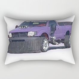 Purple car Rectangular Pillow