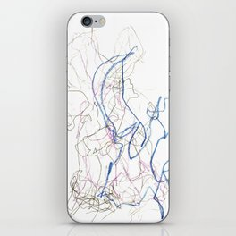 Nonsensical Scribbles iPhone Skin