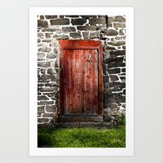 Enter the Farm Art Print