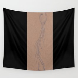 Specimen #35c (worms) Wall Tapestry