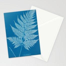 Anna Atkins Fern Cyanotype, 1800s Stationery Cards