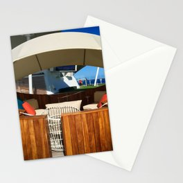 Cruise Ship Lounger Stationery Cards
