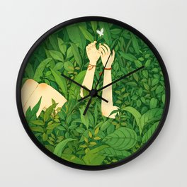 Into Chill Wall Clock