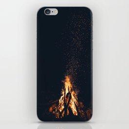 bonfire #society6 #buyart #decor iPhone Skin