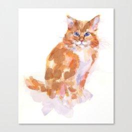 Tiger Rose Canvas Print