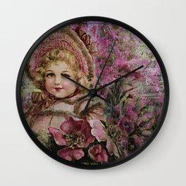 Younger Than Springtime Wall Clock