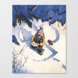 A Short Rest Canvas Print