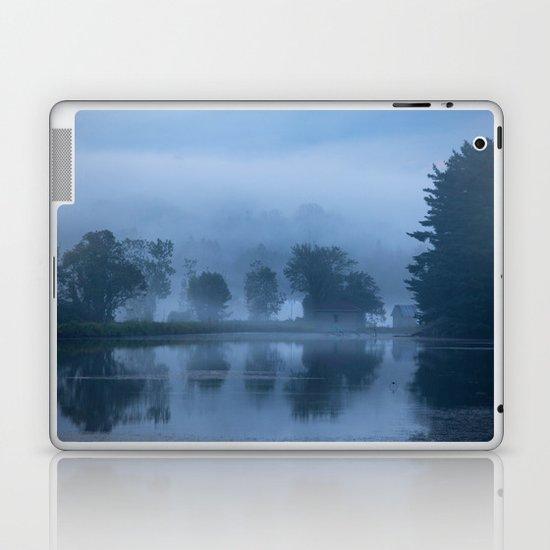 Peaceful Blue Laptop & iPad Skin