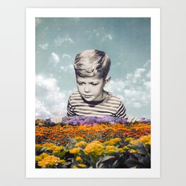 Flowerchild Art Print