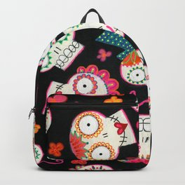 Sugar Skulls and Flowers Backpack