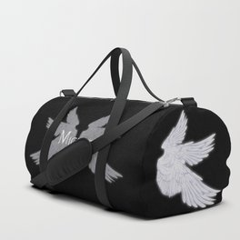 Archangel Michael with Wings Duffle Bag