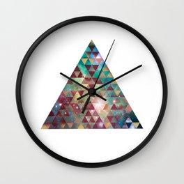 Triangle Nebula  Wall Clock