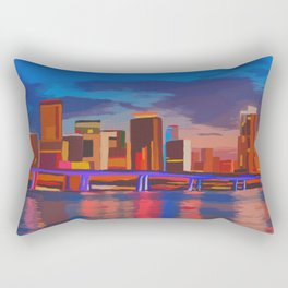 Miami Evening Rectangular Pillow