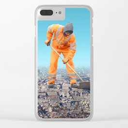 Maintenance City Clear iPhone Case