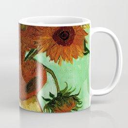 Van Gogh, sunflowers – Van Gogh,Vincent Van Gogh,impressionist,post-impressionism,brushwork,painting Coffee Mug