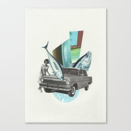 Bluefin Roadster Canvas Print