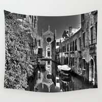 venice Wall Tapestries featuring Venice by LaCatrina.it