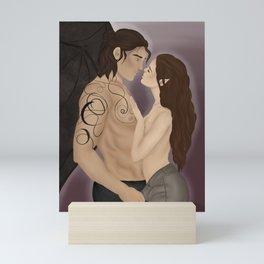 Intimate Cassian and Nesta Mini Art Print
