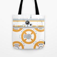 Minimal BB8 Droid Tote Bag