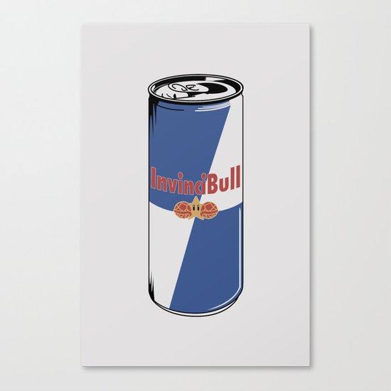 InvinciBull Energy Drink Canvas Print
