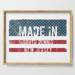 Made in South Dennis, New Jersey Serving Tray