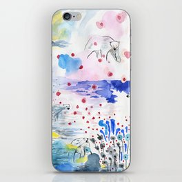 They lived lives no one had dreamt of iPhone Skin