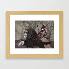 Spirits of Woods Framed Art Print