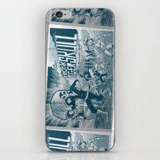 ELECTRIC TIGER SKULL! iPhone & iPod Skin