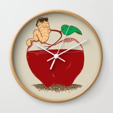Apple Juice Wall Clock