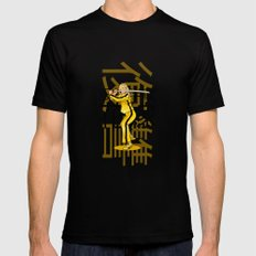 THE BRIDE FROM KILL BILL 2X-LARGE Black Mens Fitted Tee