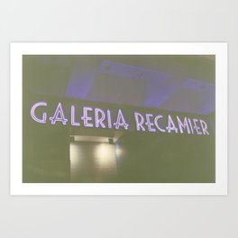 Galeria Recamier Art Print