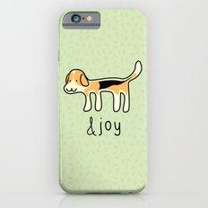 Cute Beagle Dog &joy Doodle iPhone 6s Slim Case