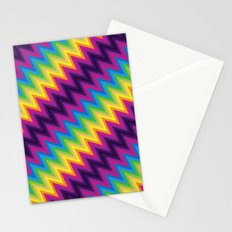 Zig Zag Chevron Pattern G36 Stationery Cards