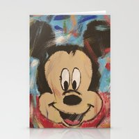 mickey Stationery Cards featuring Mickey by Jason L Cohen Fine Art