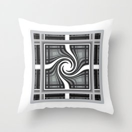 Fractal Square Throw Pillow