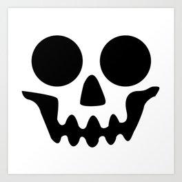 This is Halloween -Skull Art Print