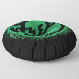 Free Your Mind with Cannabis Marijuana Ganja Floor Pillow