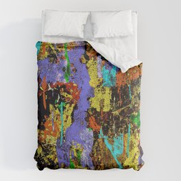 Detour Abstract Art Comforters